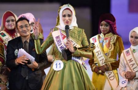 Miss Muslim World Fatma Ben Guefrache