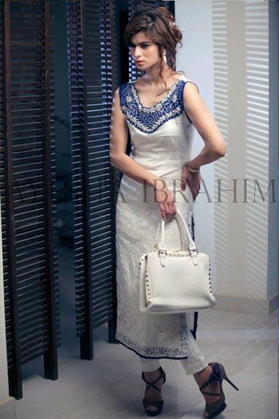 Ayesha Ibrahim Women Fall Dresses 2014