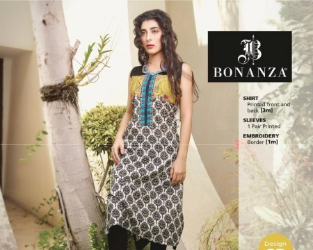 Bonanza Satrangi Girls Winter Dresses 2014-2015