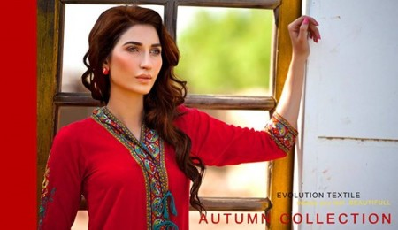 Evolution Textiles Autumn Dresses 2014 For Women