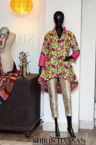 Shirin Hassan Women Dresses 2014 Volume 2 For Winter