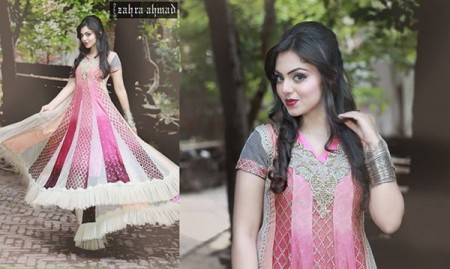 Zahra Ahmad Women Fall Dresses 2014