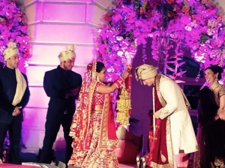 Arpita Khan & Aayush Sharma Wedding Pics