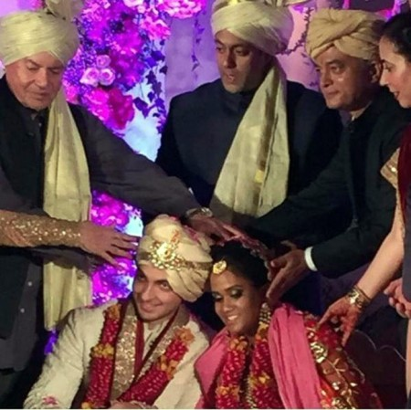 Arpita Khan & Aayush Sharma Wedding Pictures