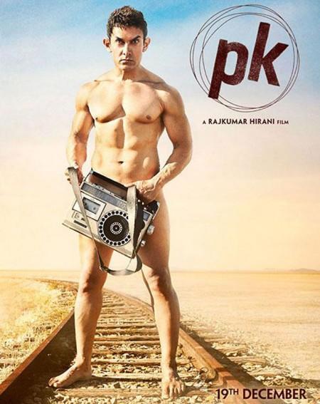 Aamir Khan PK poster 2014
