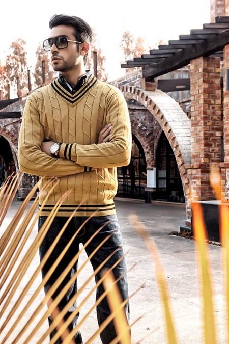 Charcoal Winter Dresses 2014-15 For Men