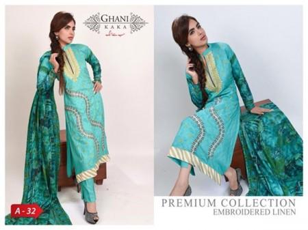 Ghani Textile Women Winter Dresses 2014