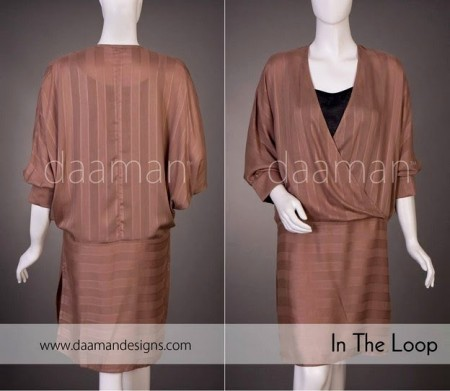 Daaman Casual Wear Dresses 2014-15 For Girls