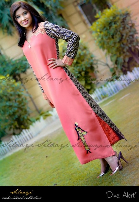 Silaayi Winter Dresses 2014 For Women
