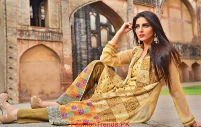 Salam Textile Wijdaan Winter Dresses 2015 02