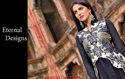 Salam Textile Wijdaan Winter Dresses 2015 04