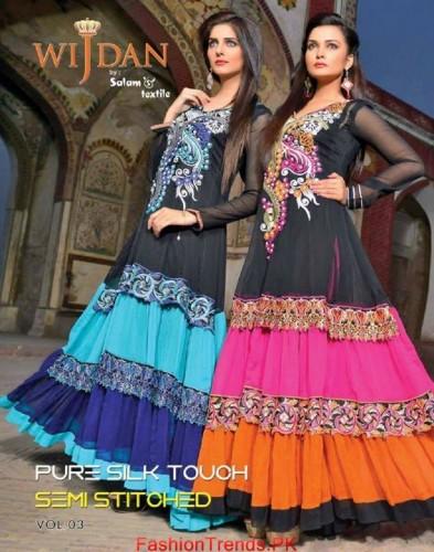 Salam Textile Wijdaan Winter Dresses 2015 05