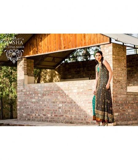 Umsha By Uzma Babar Bridal Wear Dresses 2014 For Women