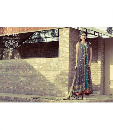 Umsha By Uzma Babar Bridal Wear Dresses 2014 For Women