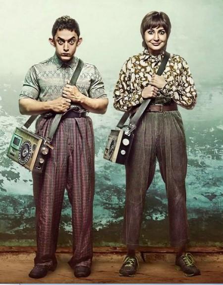 """2014 Movie """"PK"""" Poster"""
