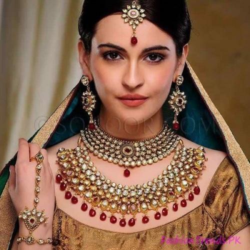 Kundan Jewellery Designs 2015 (3)