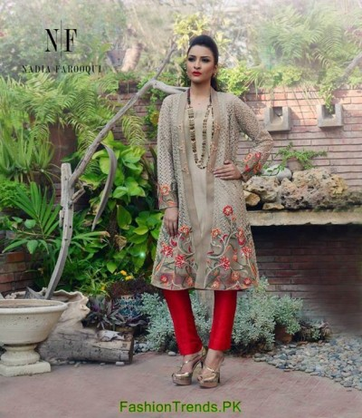 Nadia Farooqui Party Dresses 2015
