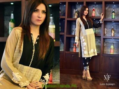 Nadia Farooqui Party Dresses 2015