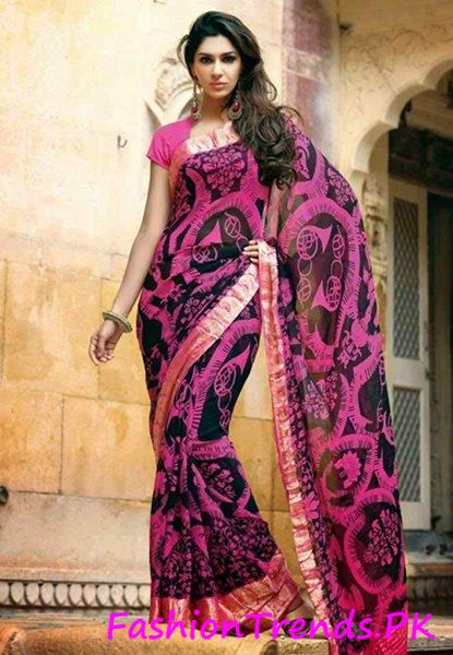 Trends Of Indian Sarees 2015 (12)