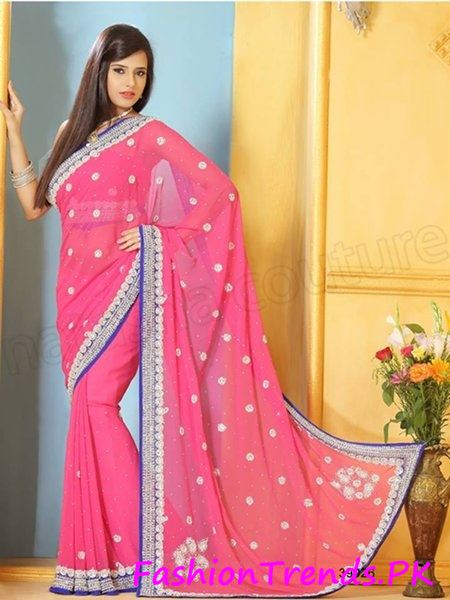 Trends Of Indian Sarees 2015 (10)
