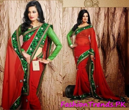 Trends Of Indian Sarees 2015 (9)