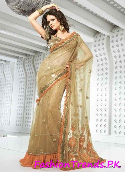 Trends Of Indian Sarees 2015 (7)