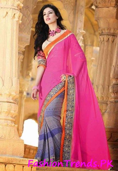 Trends Of Indian Sarees 2015 (4)