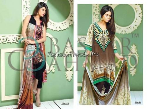 Bashir Ahmed Textile Summer Lawn Dresses 2015 (2)