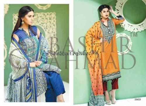 Bashir Ahmed Textile Summer Lawn Dresses 2015 (4)