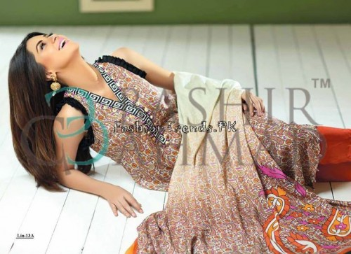 Bashir Ahmed Textile Summer Lawn Dresses 2015 (5)