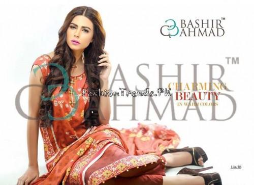 Bashir Ahmed Textile Summer Lawn Dresses 2015 (9)