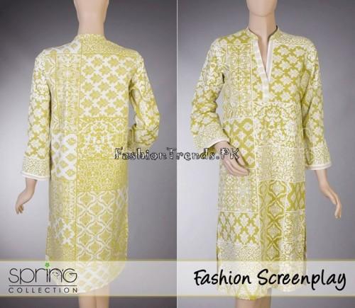 Daaman Spring Dresses 2015 (44)