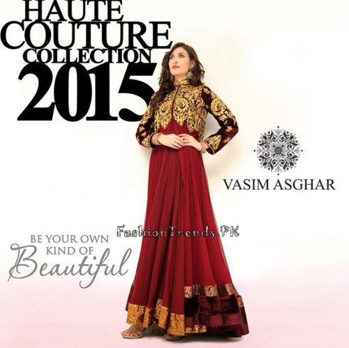Haute Couture Collection 2015 by Vasim Asghar (4)