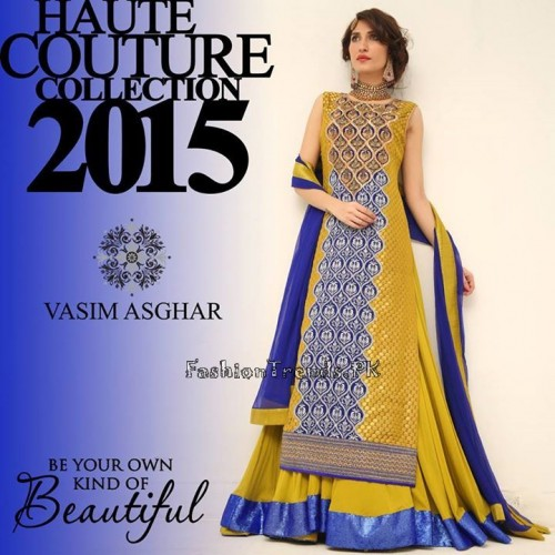 Haute Couture Collection 2015 by Vasim Asghar (7)
