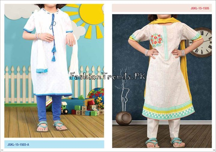 Junaid Jamshed Summer Collection 2015 For Kids - Fashion 2017