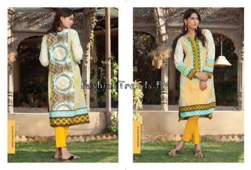 Komal Embroidered Kurti Collection 2015 (4)