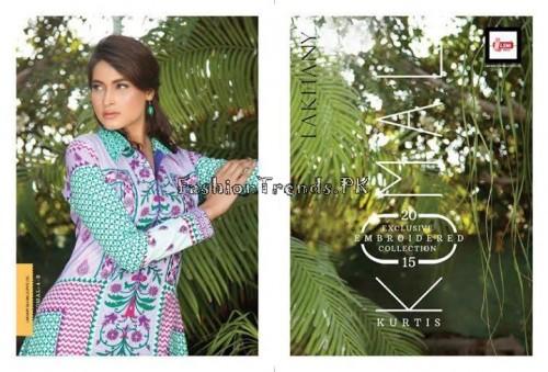 Komal Embroidered Kurti Collection 2015 (7)