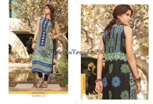 Komal Embroidered Kurti Collection 2015 (13)