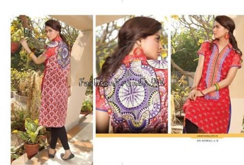 Komal Embroidered Kurti Collection 2015 (17)