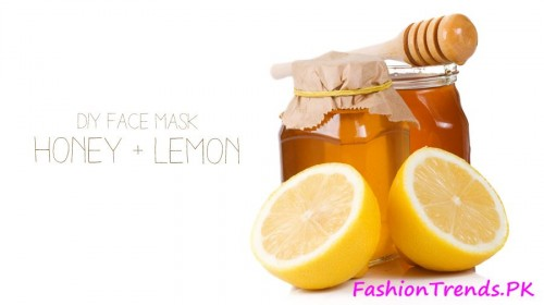Mask of Lemon and Honey