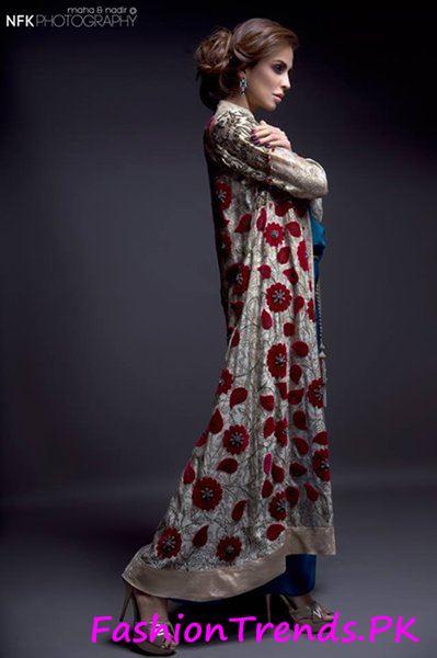 Momina Teli Party Dresses 2015 (2)