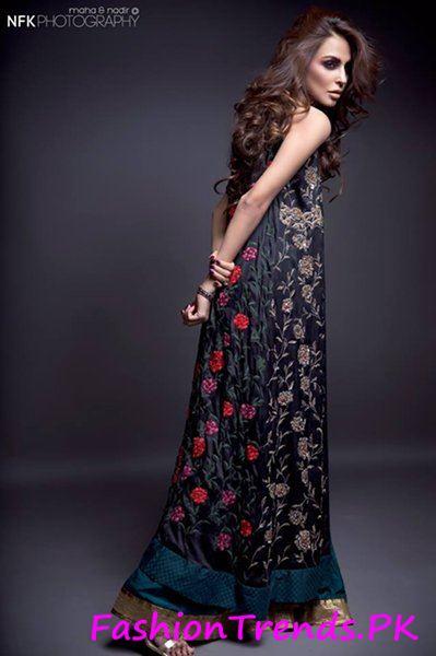 Momina Teli Party Dresses 2015 (4)