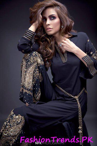 Momina Teli Party Dresses 2015 (6)
