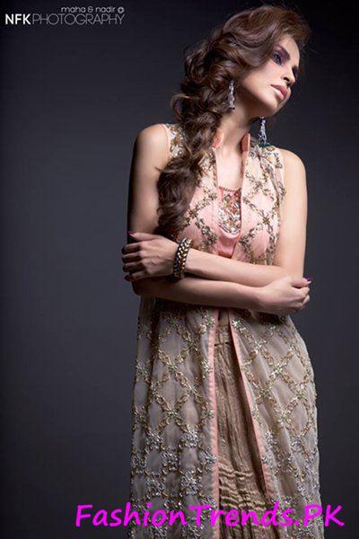 Momina Teli Party Dresses 2015 (7)