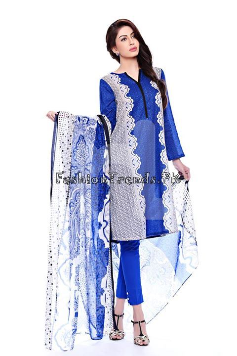 Nisha (Nishat Linen) Spring Summer Collection 2015 (2)