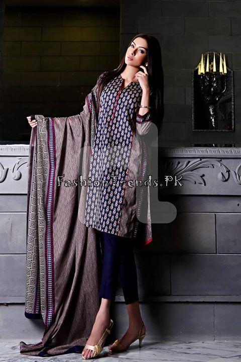 Nisha (Nishat Linen) Spring Summer Collection 2015 (4)