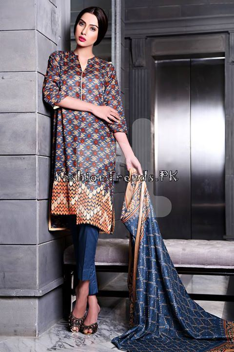 Nisha (Nishat Linen) Spring Summer Collection 2015 (6)