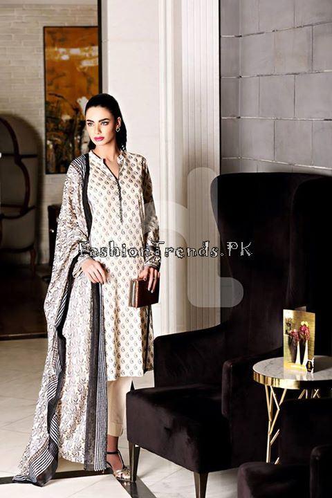 Nisha (Nishat Linen) Spring Summer Collection 2015 (12)