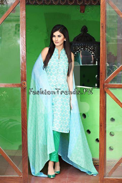 Nisha (Nishat Linen) Spring Summer Collection 2015 (15)