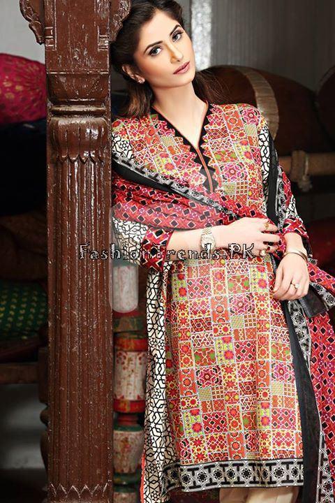 Nisha (Nishat Linen) Spring Summer Collection 2015 (20)